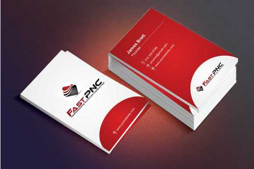 fast pnc Business Cards and Stationery  Draft # 232 by Dawson