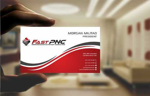 fast pnc Business Cards and Stationery  Draft # 235 by Dawson