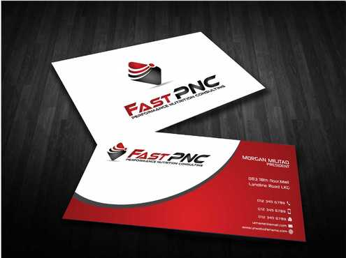 fast pnc Business Cards and Stationery  Draft # 236 by Dawson