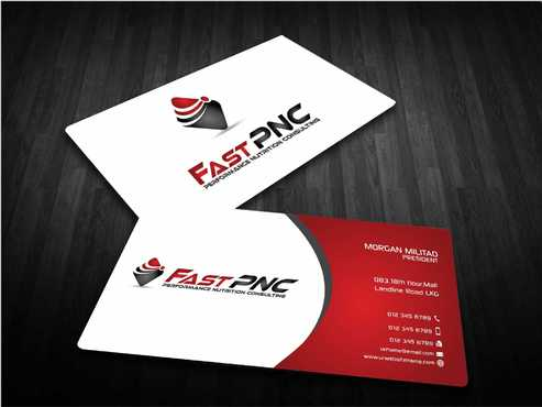 fast pnc Business Cards and Stationery  Draft # 237 by Dawson