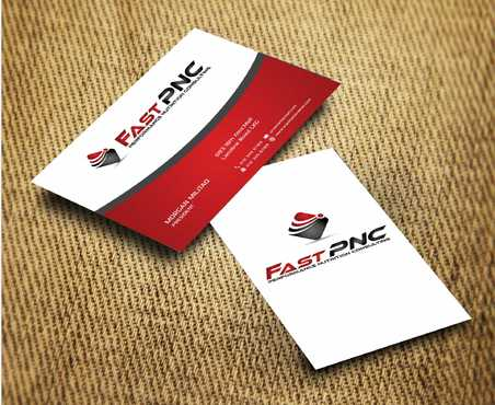 fast pnc Business Cards and Stationery  Draft # 238 by Dawson