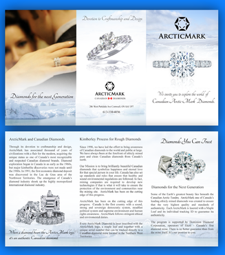 ArcticMark Marketing collateral Winning Design by pivotal