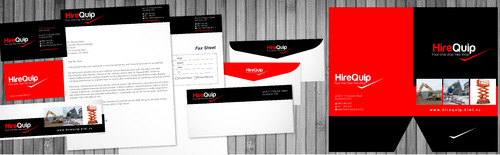 Business Cards, Email Footer, A4 Presentation Folder, Letterhead etc
