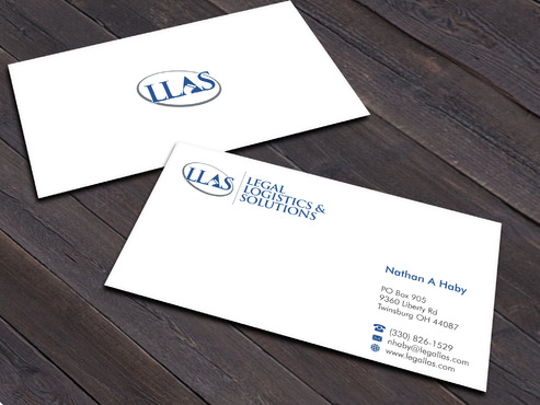 Legal Logistics & Solutions, Inc. Business Cards and Stationery  Draft # 3 by Xpert