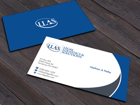 Legal Logistics & Solutions, Inc. Business Cards and Stationery  Draft # 13 by Xpert