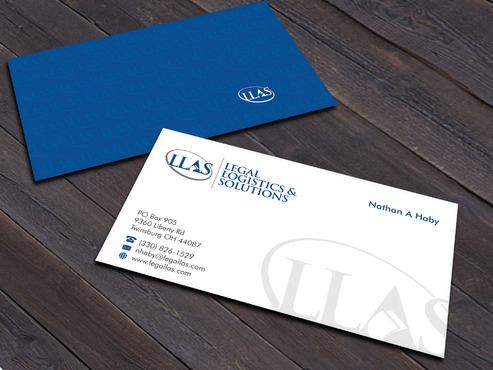 Legal Logistics & Solutions, Inc. Business Cards and Stationery  Draft # 15 by Xpert
