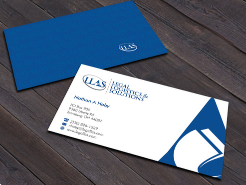 Legal Logistics & Solutions, Inc. Business Cards and Stationery  Draft # 16 by Xpert