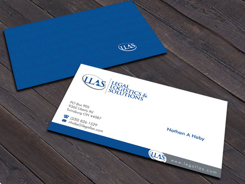 Legal Logistics & Solutions, Inc. Business Cards and Stationery  Draft # 17 by Xpert