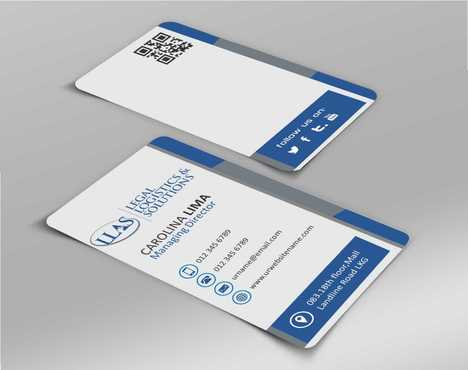 Legal Logistics & Solutions, Inc. Business Cards and Stationery  Draft # 126 by Dawson
