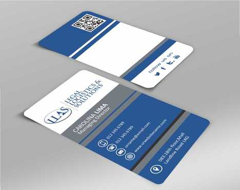 Legal Logistics & Solutions, Inc. Business Cards and Stationery  Draft # 127 by Dawson