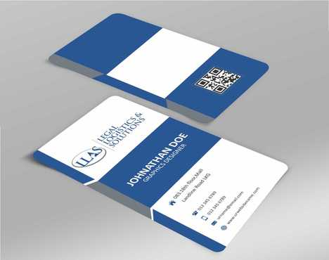 Legal Logistics & Solutions, Inc. Business Cards and Stationery  Draft # 128 by Dawson