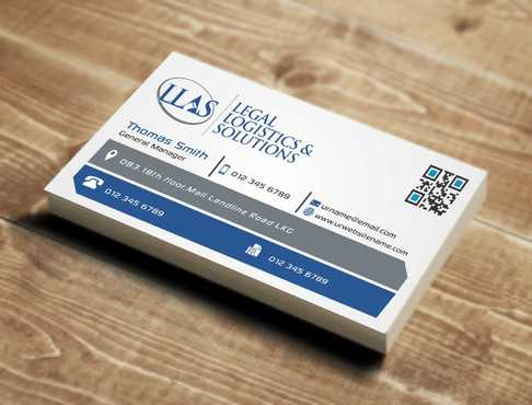 Legal Logistics & Solutions, Inc. Business Cards and Stationery  Draft # 129 by Dawson