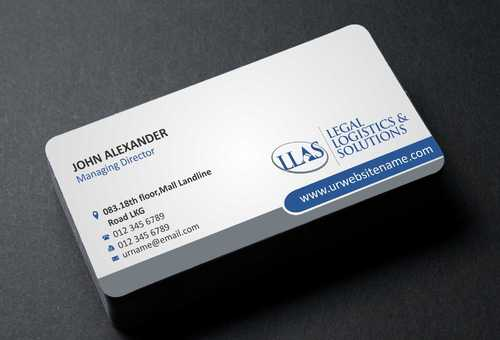 Legal Logistics & Solutions, Inc. Business Cards and Stationery  Draft # 132 by Dawson