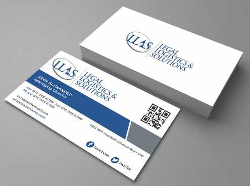 Legal Logistics & Solutions, Inc. Business Cards and Stationery  Draft # 133 by Dawson