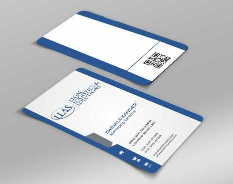 Legal Logistics & Solutions, Inc. Business Cards and Stationery  Draft # 135 by Dawson