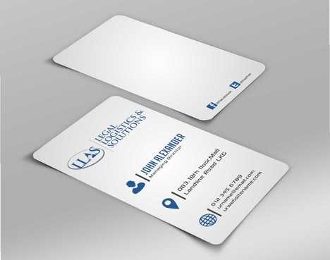 Legal Logistics & Solutions, Inc. Business Cards and Stationery  Draft # 136 by Dawson