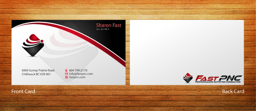 fast pnc Business Cards and Stationery  Draft # 284 by 14stars