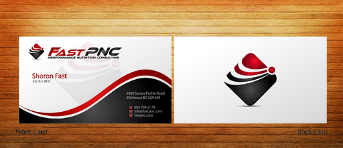 fast pnc Business Cards and Stationery  Draft # 285 by 14stars
