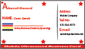 Advanced Ultrasound Solutions Business Cards and Stationery  Draft # 199 by gulahmed