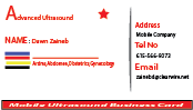 Advanced Ultrasound Solutions Business Cards and Stationery  Draft # 200 by gulahmed