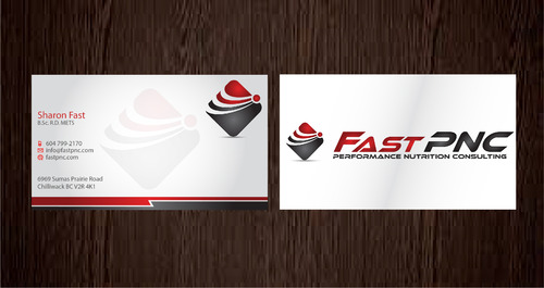 fast pnc Business Cards and Stationery  Draft # 286 by 14stars