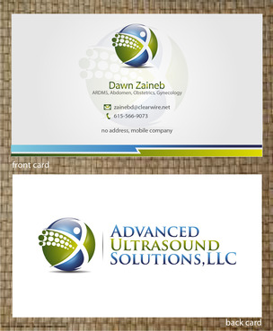 Advanced Ultrasound Solutions Business Cards and Stationery  Draft # 206 by 14stars