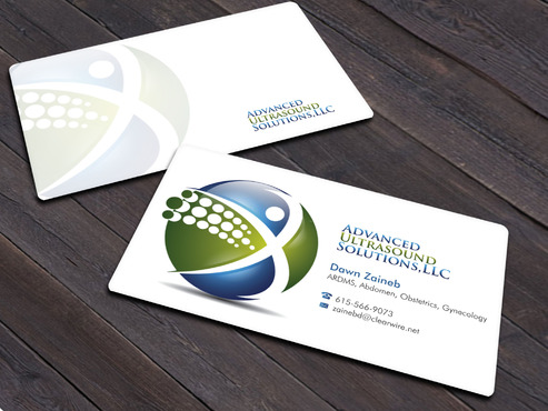Advanced Ultrasound Solutions Business Cards and Stationery  Draft # 211 by Xpert