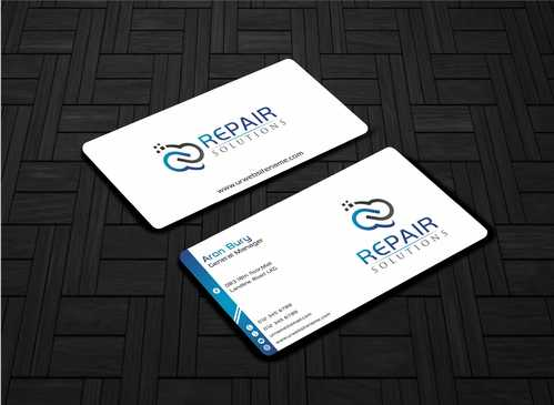 Repair Solutions Business Cards and Stationery  Draft # 78 by Dawson