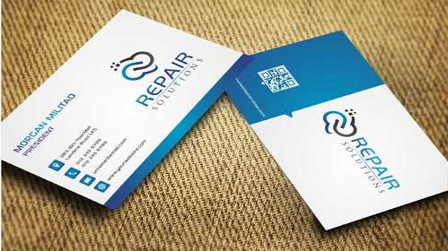 Repair Solutions Business Cards and Stationery  Draft # 119 by Dawson