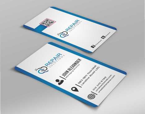 Repair Solutions Business Cards and Stationery  Draft # 170 by Dawson