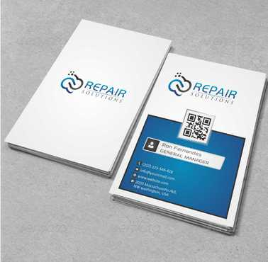 Repair Solutions Business Cards and Stationery  Draft # 175 by Dawson