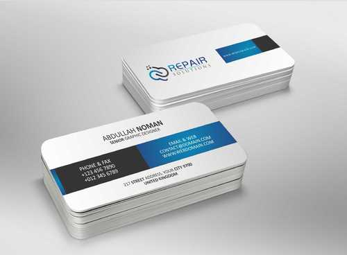 Repair Solutions Business Cards and Stationery  Draft # 182 by Dawson