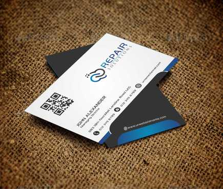 Repair Solutions Business Cards and Stationery  Draft # 186 by Dawson