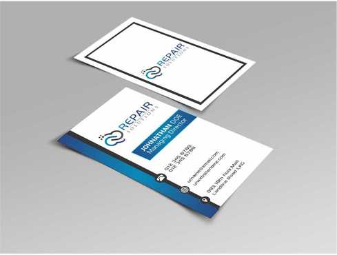 Repair Solutions Business Cards and Stationery  Draft # 187 by Dawson