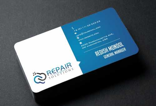 Repair Solutions Business Cards and Stationery  Draft # 194 by Dawson