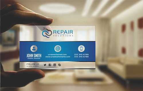 Repair Solutions Business Cards and Stationery  Draft # 195 by Dawson