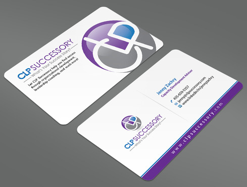 Business card for someone who trains leaders Business Cards and Stationery  Draft # 223 by ArtworksKingdom