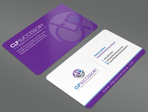 Business card for someone who trains leaders Business Cards and Stationery  Draft # 224 by ArtworksKingdom
