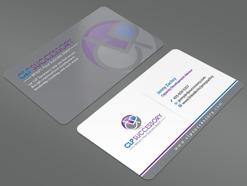 Business card for someone who trains leaders Business Cards and Stationery  Draft # 225 by ArtworksKingdom
