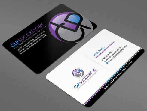 Business card for someone who trains leaders Business Cards and Stationery  Draft # 226 by ArtworksKingdom