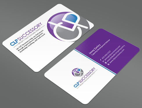 Business card for someone who trains leaders Business Cards and Stationery  Draft # 227 by ArtworksKingdom