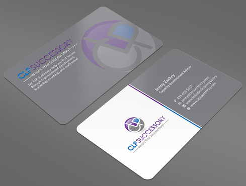 Business card for someone who trains leaders Business Cards and Stationery  Draft # 229 by ArtworksKingdom