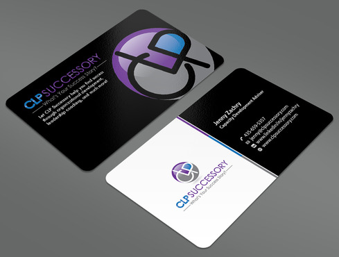 Business card for someone who trains leaders Business Cards and Stationery  Draft # 230 by ArtworksKingdom