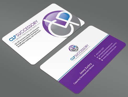 Business card for someone who trains leaders Business Cards and Stationery  Draft # 231 by ArtworksKingdom