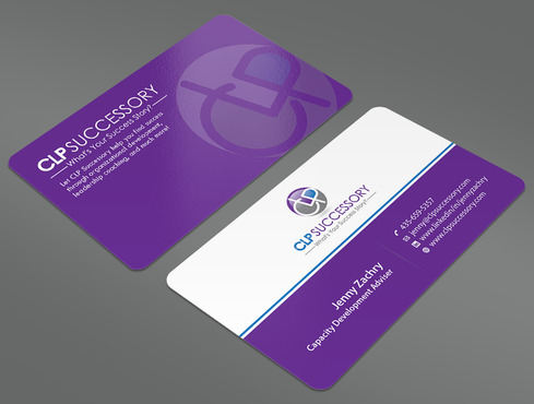 Business card for someone who trains leaders Business Cards and Stationery  Draft # 232 by ArtworksKingdom