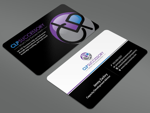 Business card for someone who trains leaders Business Cards and Stationery  Draft # 233 by ArtworksKingdom