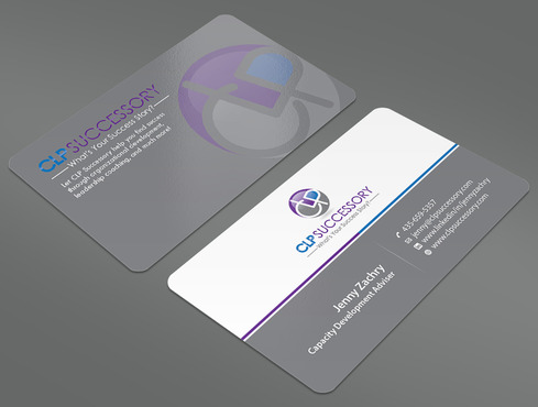 Business card for someone who trains leaders Business Cards and Stationery  Draft # 234 by ArtworksKingdom