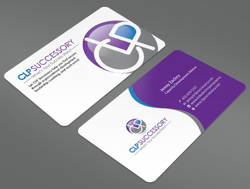 Business card for someone who trains leaders Business Cards and Stationery  Draft # 235 by ArtworksKingdom