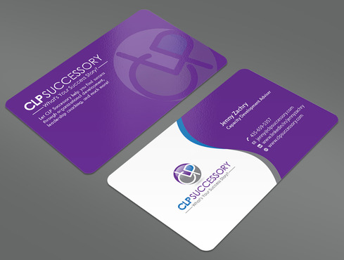 Business card for someone who trains leaders Business Cards and Stationery  Draft # 236 by ArtworksKingdom