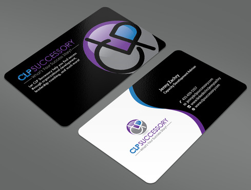 Business card for someone who trains leaders Business Cards and Stationery  Draft # 237 by ArtworksKingdom